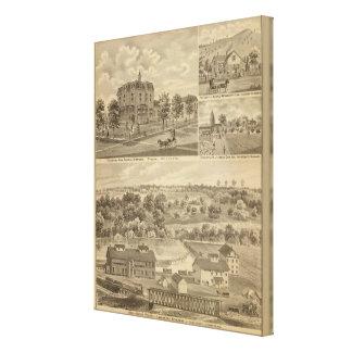Lanesboro Company, Lanesboro, Minnesota Canvas Print