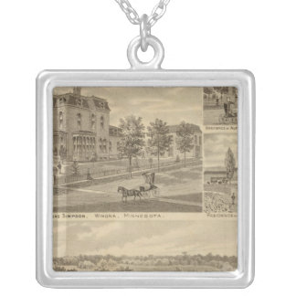 Lanesboro Company, Lanesboro, Minnesota Silver Plated Necklace