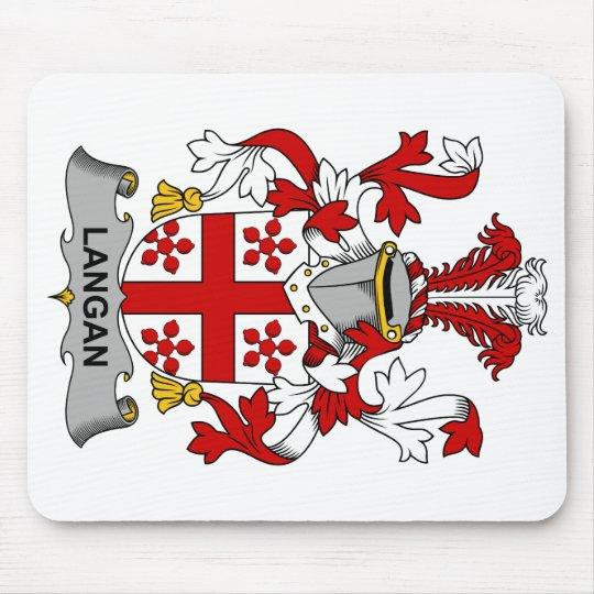 Langan Family Crest Mouse Mat