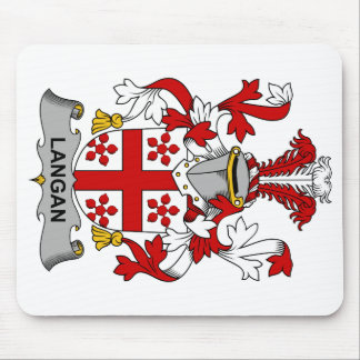 Langan Family Crest Mouse Pad