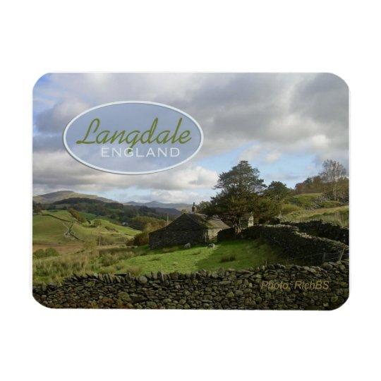 Langdale England Travel Souvenir Magnet