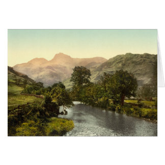 Langdale Pikes I Lake District Cumbria England Cards