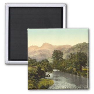 Langdale Pikes I, Lake District, Cumbria, England Magnet