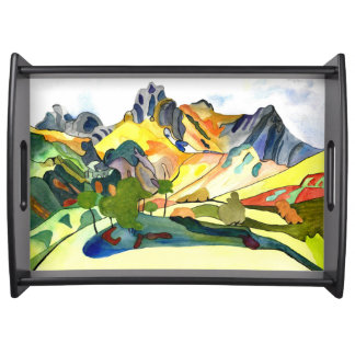 Langdale Pikes. Serving Tray