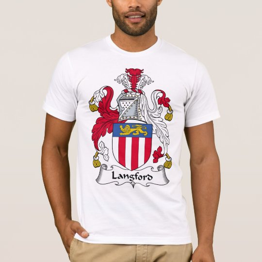 Langford Family Crest T-Shirt