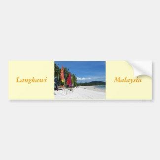 Langkawi Beaches Bumper Sticker