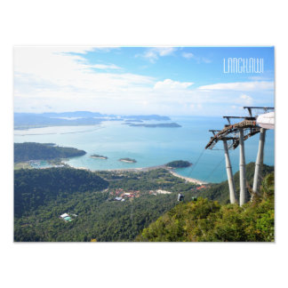 Langkawi Cable Car Scene Travel Souvenir Photograph