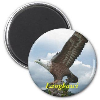 Langkawi Eagle 6 Cm Round Magnet