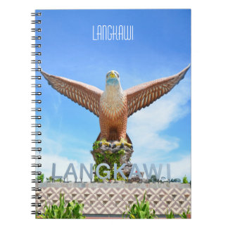 Langkawi Eagle Sculpture Malaysia Travelogue Notebook
