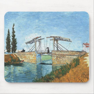 Langlois Bridge at Arles by Vincent van Gogh Mouse Mat