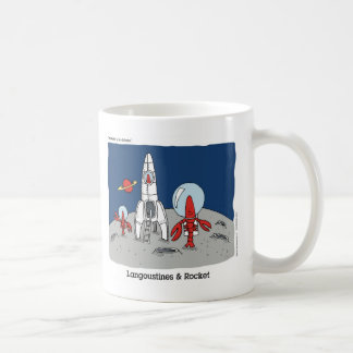 Langoustine & Rocket Coffee Mugs