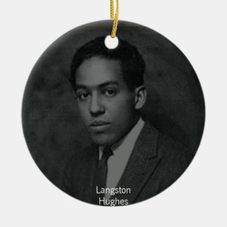 Langston Hughes Christmas Ornament