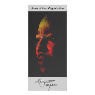 Langston Hughes Full Color Rack Card