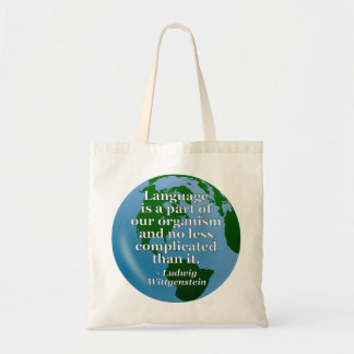 Language is part Quote Bags