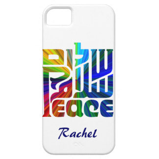 Language of Peace-Hebrew, English, Arabic iPhone 5 Cover