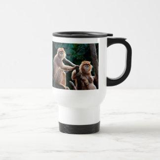 Langur Monkey Wildlife Animal Photo Coffee Mugs