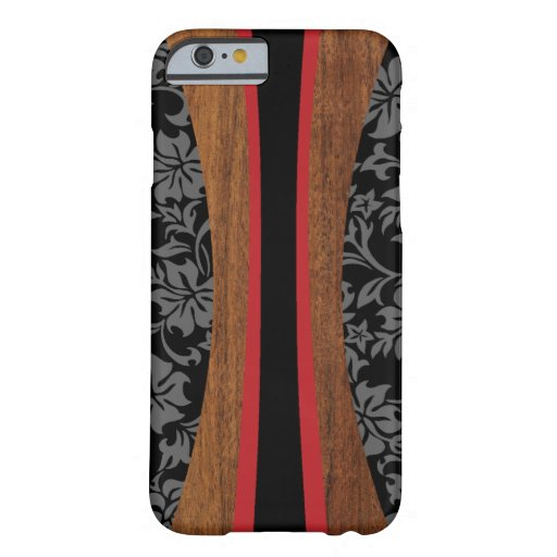 Laniakea Hawaiian Faux Wood Surfboard Barely There iPhone 6 Case