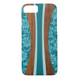Laniakea Hawaiian Faux Wood Surfboard iPhone 7 Case
