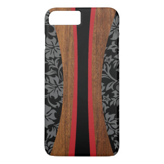 Laniakea Hawaiian Faux Wood Surfboard iPhone 8 Plus/7 Plus Case