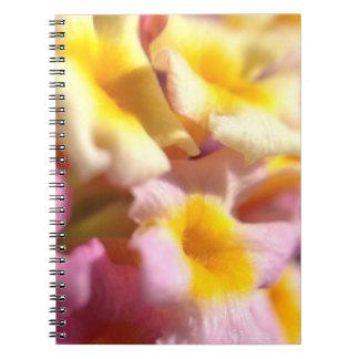 Lantana flowers notebook
