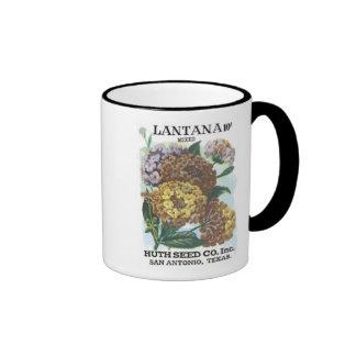 Lantana Mixed, Huth Seed Co Mugs