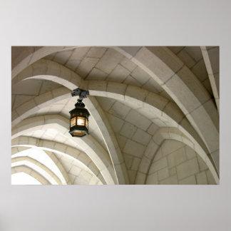 Lantern Arch Print