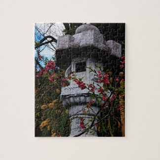 Lantern at Nago Castle Park Jigsaw Puzzle