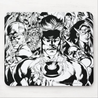 Lantern Corps Group Shot Mouse Pad