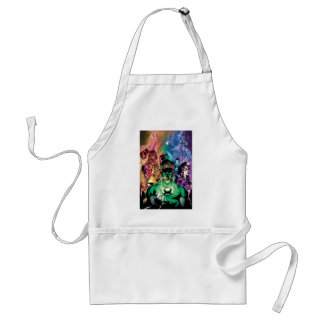 Lantern Corps Group with Colors Standard Apron