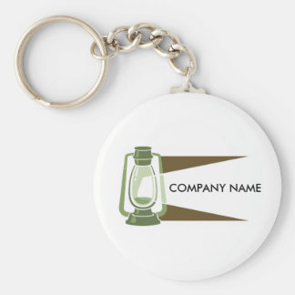 Lantern Customizable Keychain