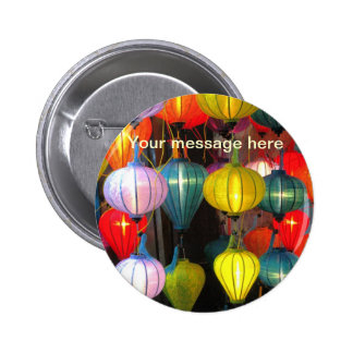 Lantern Festival Hoi An Vietnam 6 Cm Round Badge