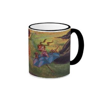 Lantern Ladies Ringer Coffee Mug
