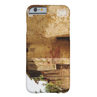 Lantern mounted on the wall of a building, barely there iPhone 6 case