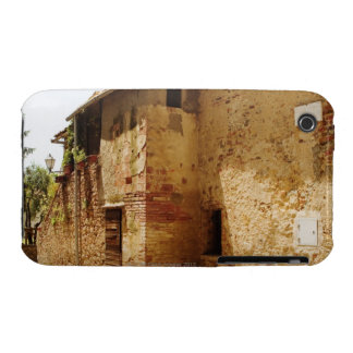 Lantern mounted on the wall of a building, iPhone 3 Case-Mate cases