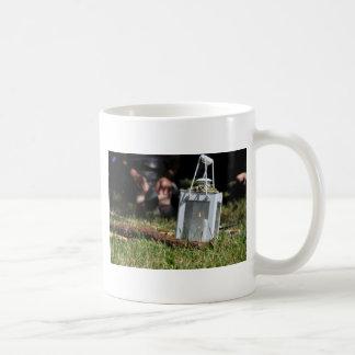Lantern of light basic white mug