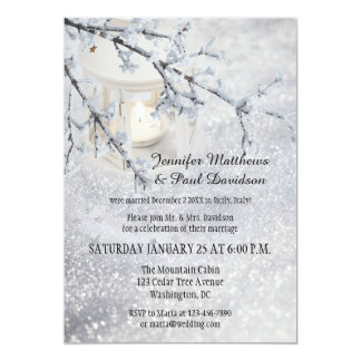 Winter Wonderland Wedding Invitations Announcements Zazzle Co Uk