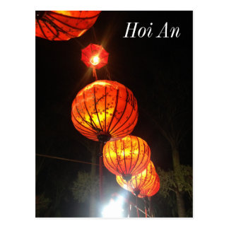 Lanterns in Hoi An Postcard