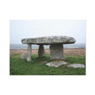 Lanyon Quoit Cornwall Standing Stones Canvas Print