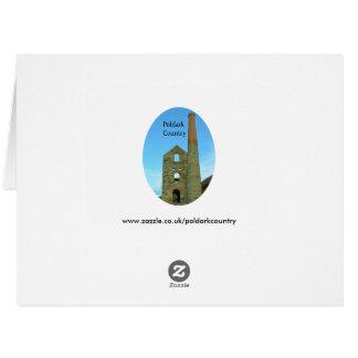Lanyon Quoit Standing Stones Cornwall England Large Greeting Card