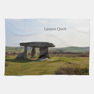 Lanyon Quoit Standing Stones Cornwall England Tea Towel