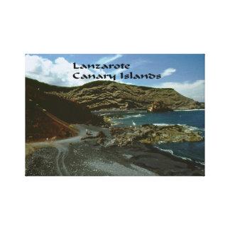 Lanzarote Canary Islands Gallery Wrap Canvas