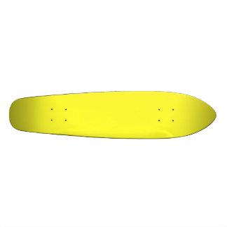 Lanzarote Lemon Acid Neon Yellow Tropical Romance Skateboard