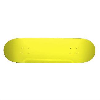 Lanzarote Lemon Acid Neon Yellow Tropical Romance Skate Board Decks