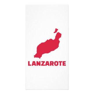 Lanzarote Photo Greeting Card