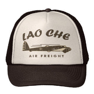 LAO-CHE air freight2a Trucker Hat