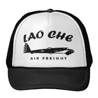 LAO-CHE air freightb Trucker Hat