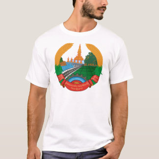 LAO NATIONAL EMBLEM - LAO BADGE T-Shirt