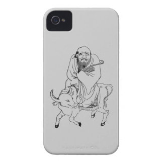 Lao Tzu Ming dynasty chinese painting iPhone 4 Case-Mate Cases