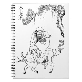 Lao Tzu Ming dynasty chinese painting Notebook