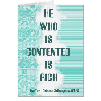 Lao Tzu Quote Card